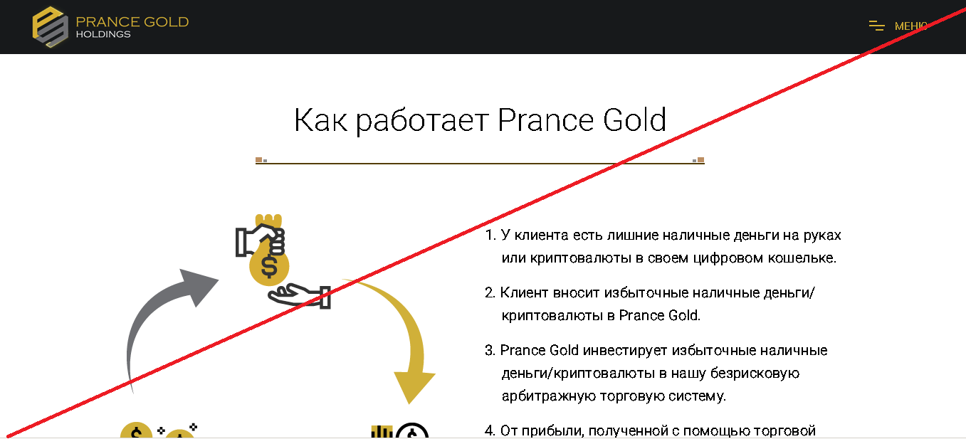 Prance Gold Holdings - Лохотрон