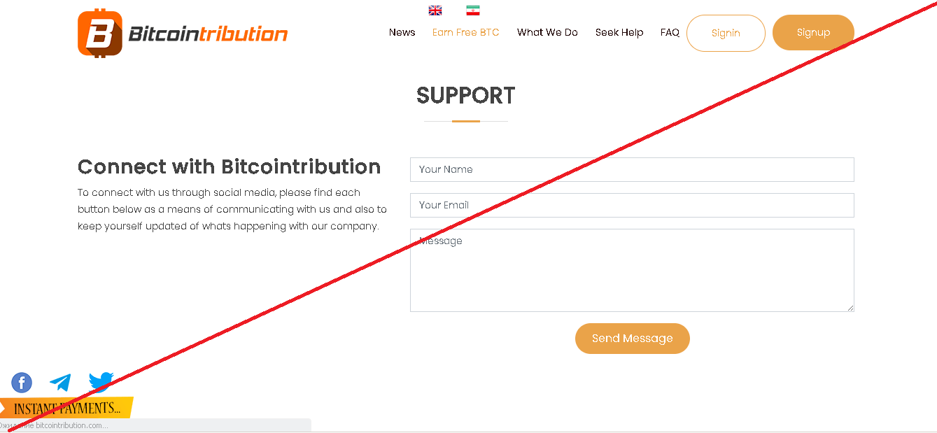Bitcointribution - Отзывы