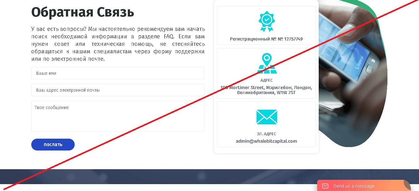WhaleBitCapital - Отзывы