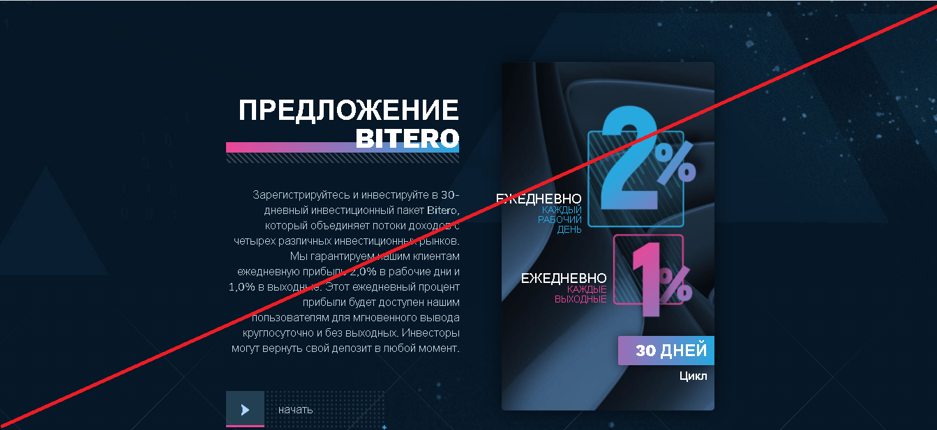 Bitero - Отзывы