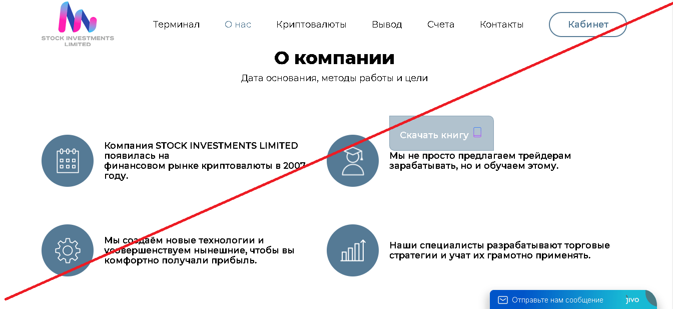 STOCK INVESTMENTS LIMITED - Лохотрон