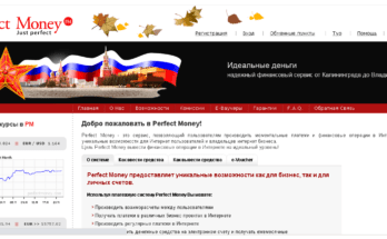 Perfect Money - Обзор