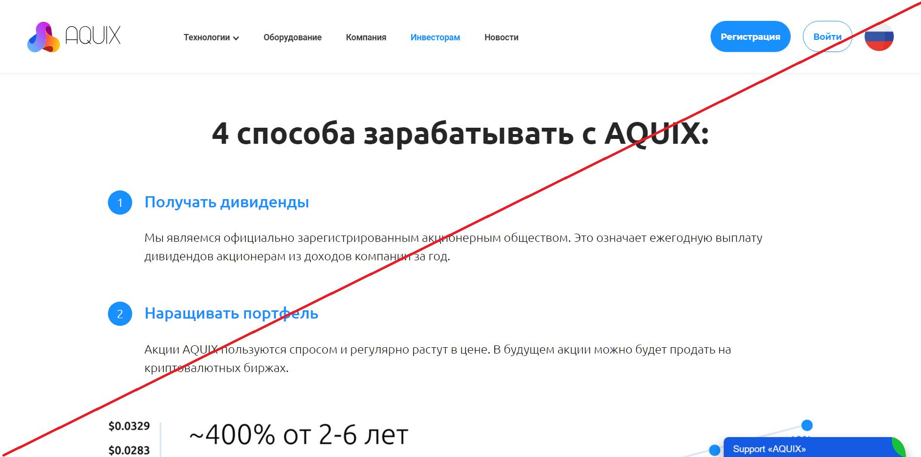 AQUIX - Мошенники