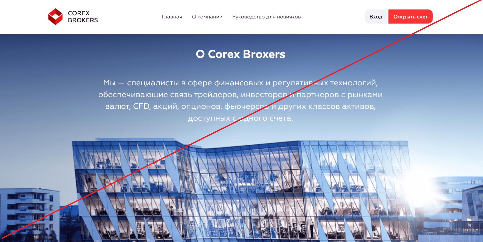 Corex Brokers Отзывы