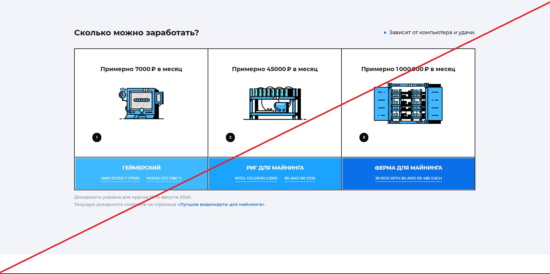 Kryptex - Мошенники
