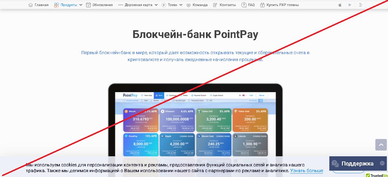 PointPay - Отзывы