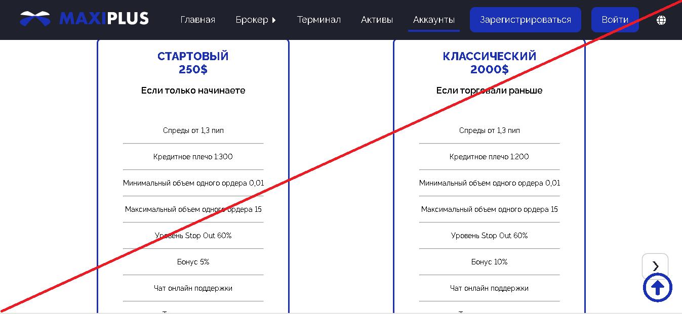 MaxiPlus - Лохотрон