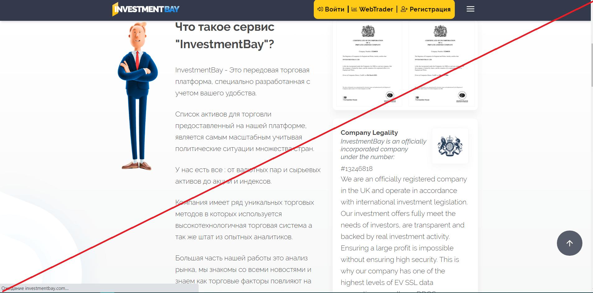 InvestmentBay - Отзывы