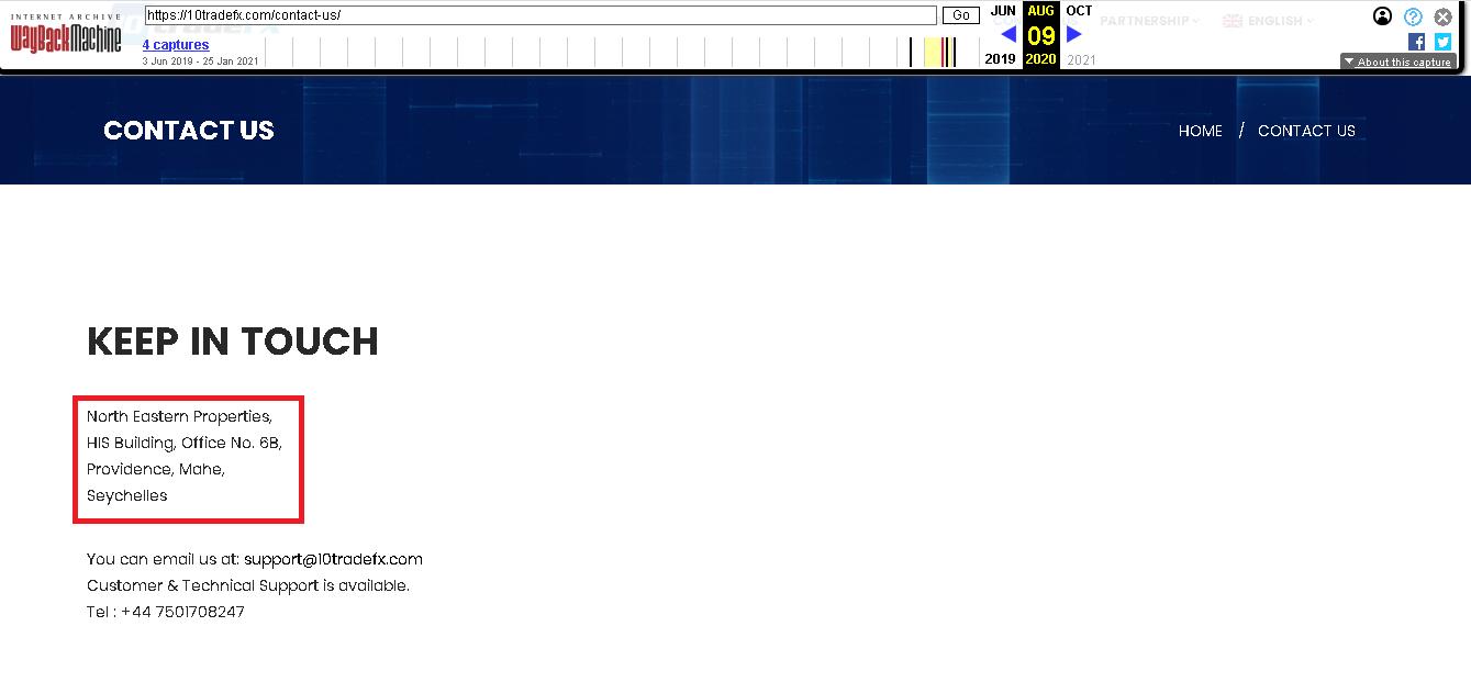 10TradeFx - Отзывы