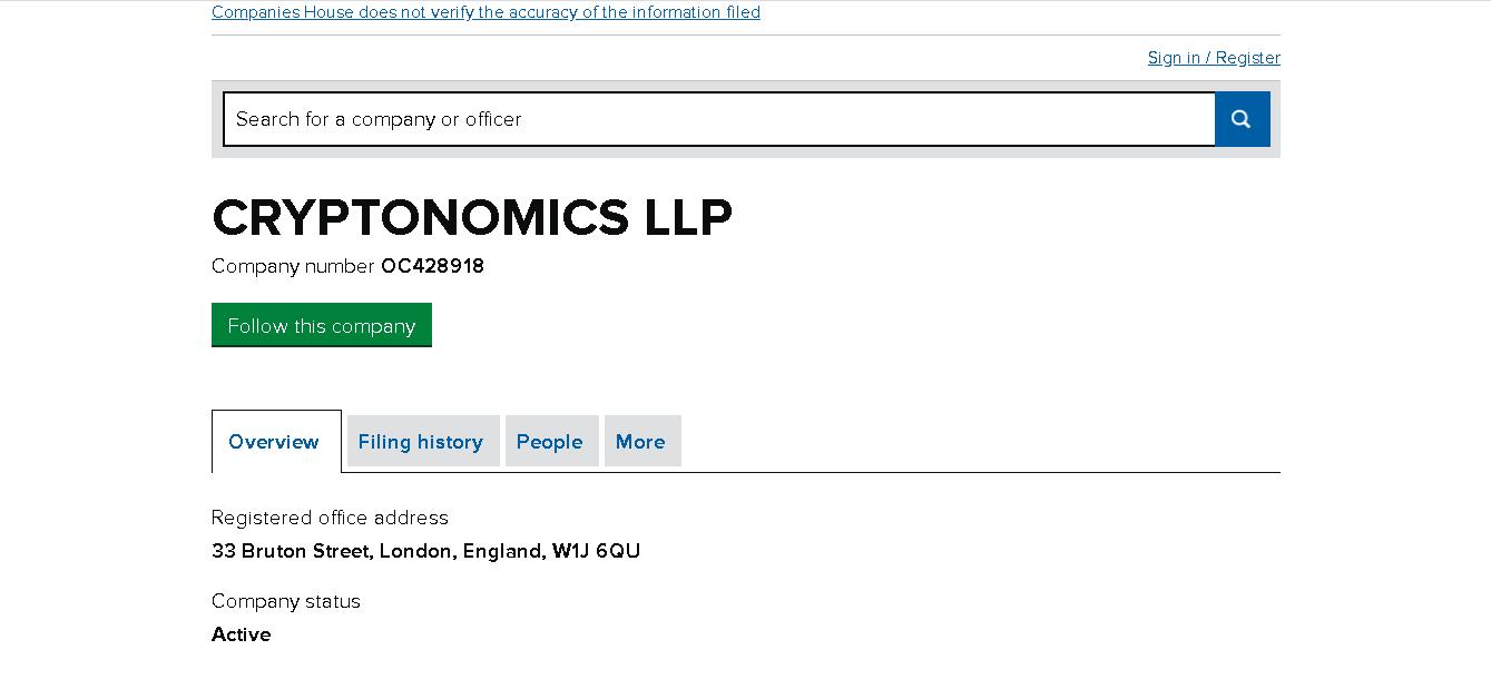 Сryptonomics - Отзывы