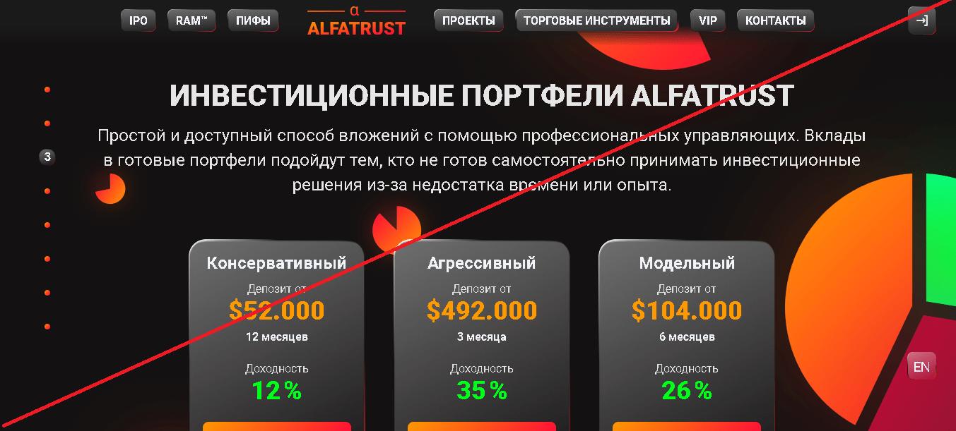 Alfatrust - Отзывы
