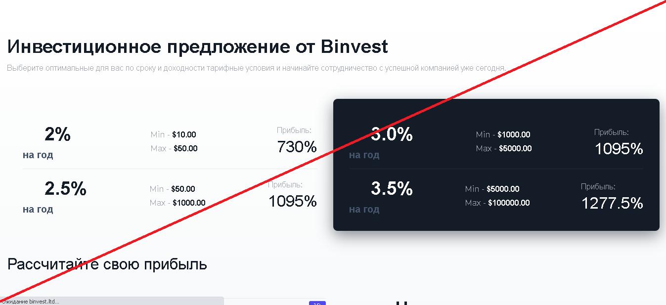 Binvest - Отзывы