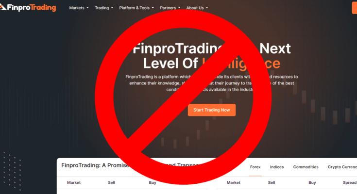 FinproTrading официальный сайт