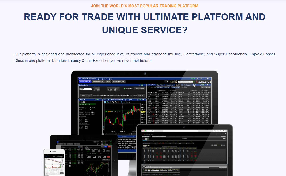 E-Capital Option торговые платформы