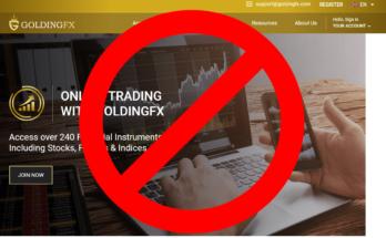 GoldingFX официальный сайт
