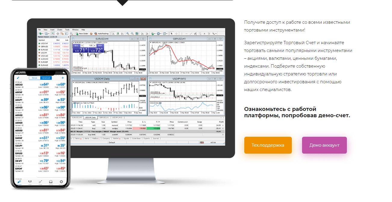 Invfx EU торговая платформа